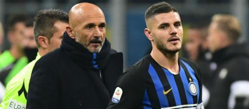 Inter, lite furiosa tra Icardi e Spalletti
