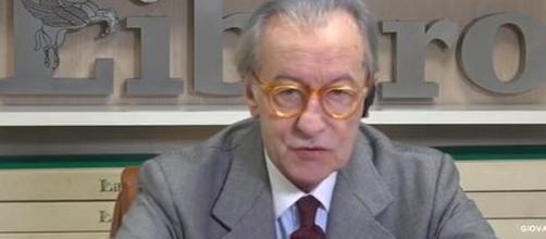 Vittorio Feltri manifesta il suo dissenso nei confronti degli studenti pro ambiente