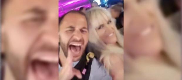 Antonio Tejado, de fiesta con Ylenia tras la última gala de 'GH DÚO'. / INSTAGRAM