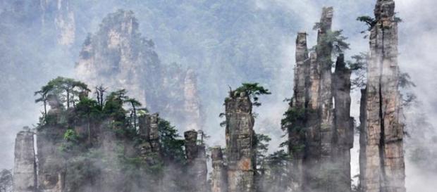 les fabuleuses montagnes de l'avatar