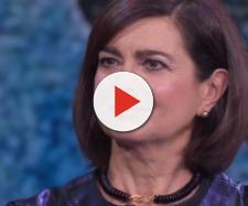 Laura Boldrini parla ospite da Fazio