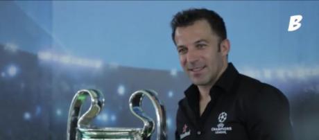 Del Piero: 'Dopo sette scudetti consecutivi i tifosi vogliono vincere la Champions'