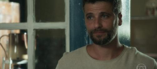 Gabriel recebe um tiro e fica entre a vida e a morte (Reprodução TV Globo)