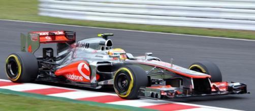 Hamilton takes pole position - Image credit - Michael Elleray   Flickr