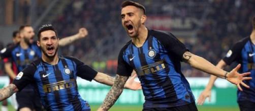 L'Inter vince il derby contro il Milan