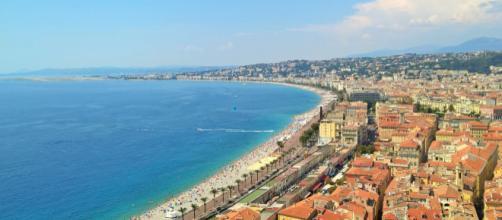 Nizza - Baia degli Angeli vista dalla Collina del Castello