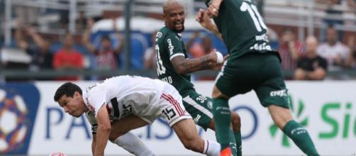 São Paulo conheceu mais uma derrota em clássicos. (Divulgação/Palmeiras)