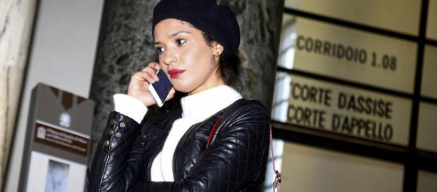 Imane Fadil immortalata al tribunale di Milano