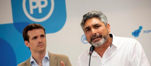 Pablo Casado y Juan José Cortés en imagen