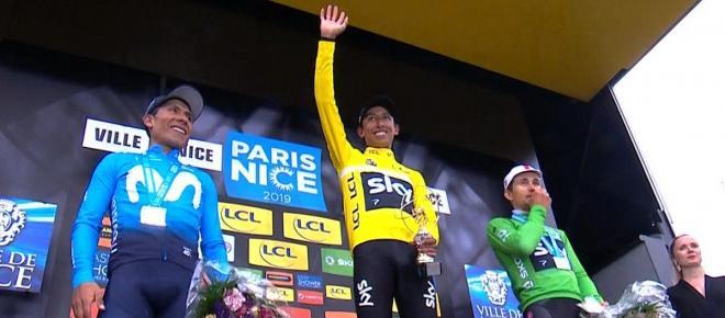 Cyclisme : le top 5 de Paris-Nice