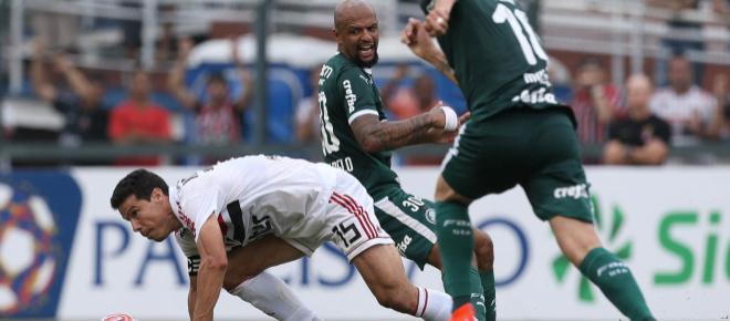 São Paulo venceu apenas 28 clássicos nos últimos dez anos