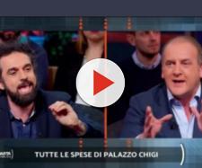 Dino Giarrusso e Andrea Ruggieri ospiti di Quarta Repubblica martedì scorso