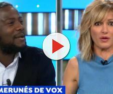 El camerunés de VOX y Susanna Griso