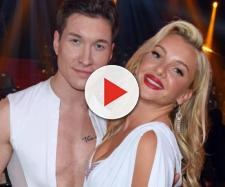 "Evelyn Burdecki bei ""Bei 'Let's Dance' mit Tanzpartner Evgeny Vinokurov."
