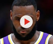 The Lakers will need to consider how to rebuild their roster with LeBron this summer. - [ESPN / YouTube screencap]