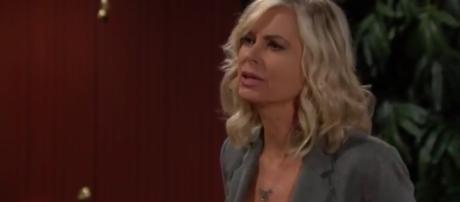Eileen Davidson returns to Y&R for two days in March.(Image Source:Daytime Emmy's-YouTube.)