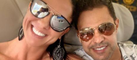 Graciele e Zezé di Camargo em viagem. (Foto: Reprodução/Instagram)