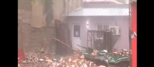 1,5 milhão de pessoas foram afetadas pela passagem do furacão. (Reprodução/TV Globo)