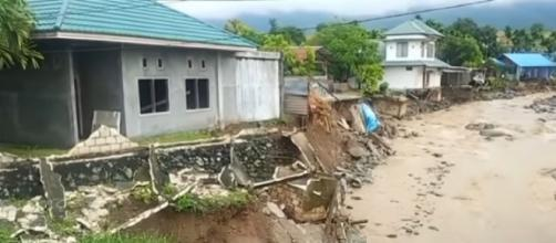 58 people confirmed dead in Indonesia flash floods. [Image source/euronews (in English)/YouTube video]
