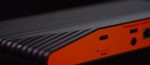 Atari VCS console front to back _ Image credit - GameSpot Trailers | YouTube