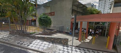 Aulas na unidade foram suspensas nesta segunda (Reprodução/Google Maps)