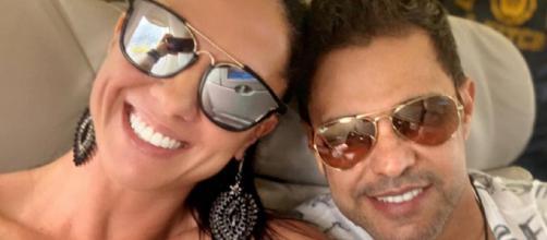 Graciele e Zezé vão ter um bebê em breve (Foto: Reprodução)
