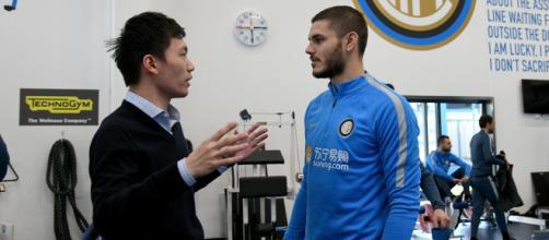 Inter, patto tra Icardi e Steven Zhang