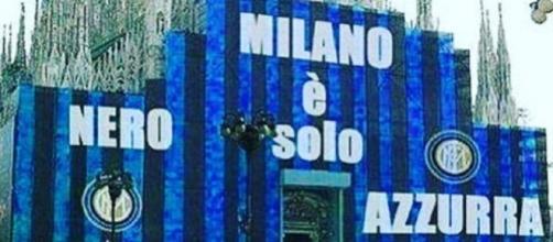 L'immagine postata da Icardi su Instagram per celebrare la vittoria dell'Inter nel derby