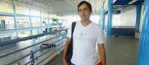 """Luiz Gustavo Galvão """"puxou a fila"""" e foi o primeiro detento do regime semiaberto a chegar à universidade (Reprodução/TV Tem)"""