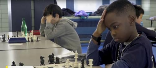 Tani Abewumi has faith, intellect, passion, and drive to achieve his dream of chess grandmaster. - [CBSThisMorning / YouTube screencap]