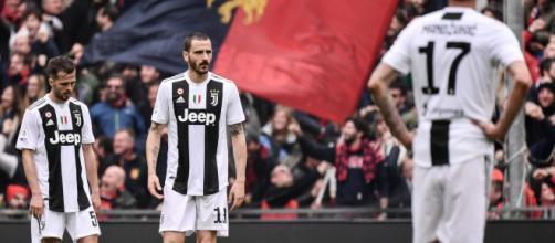 Une défaite contre le Genoa et la Juve n'est plus invaincue en championnat