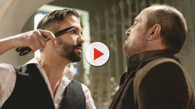 Una Vita, episodi iberici: Felipe aggredisce il Palacios con delle forbici