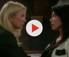 Brooke and Taylor vie for Ridge's affections yet again.(Image Source: Grezgorez475-YouTube.)