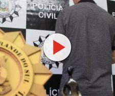 O homem foi preso pela Polícia Civil. (Foto: Divulgação/Diego da Rosa)