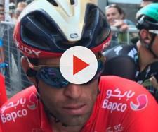 Vincenzo Nibali alla Tirreno-Adriatico.