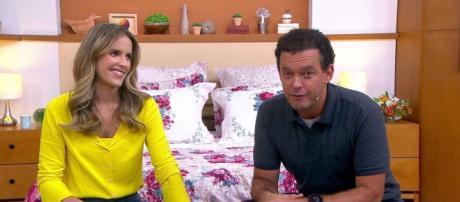Além de Mariana Ferrão, Fernando Rocha acabou sendo dispensado do Bem Estar (Reprodução/TV Globo)