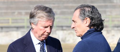 Genoa, Preziosi e Prandelli a colloquio