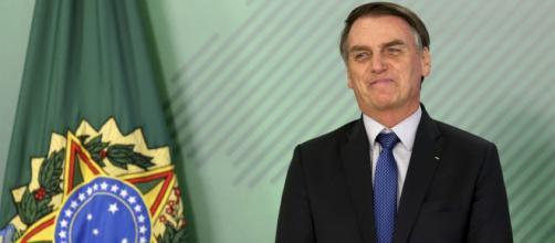 Jair Bolsonaro dá discurso em Washington - (Foto: Wilson Dias/Agência Brasil)