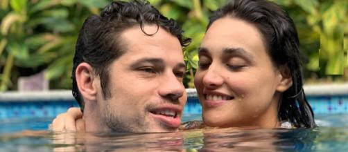 Loreto e Débora Nascimento em post romântico (Reprodução / Instagram @joseloreto)