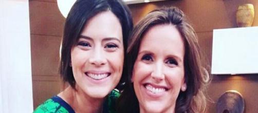 Mariana Ferrão e Michelle Loreto no 'Bem Estar' (Foto: Divulgação/ TV Globo)