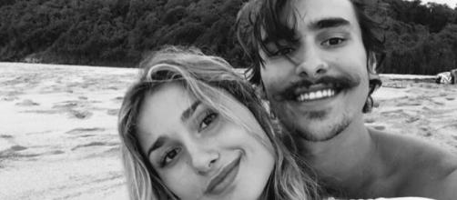 Sasha e seu namorado, Bruno Montaleone. (Reprodução Instagram/@sashameneghel)