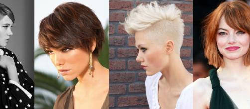 Tagli di capelli corti primavera-estate: il pixie, il caschetto e il color castano
