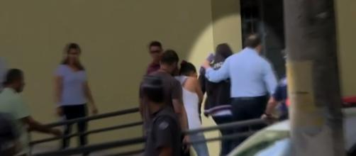 Terceiro suspeito é apreendido. (Reprodução/TV Globo)