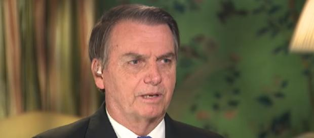 Bolsonaro dá entrevista à Fox News nos EUA. (Reprodução/Fox News)