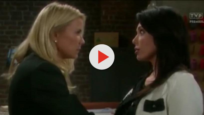 B&B bombshells, Brooke sees Taylor kiss Ridge, Thomas and Caroline were not a couple