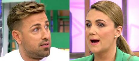 Rafa Mora y Carlota Corredera. / Telecinco