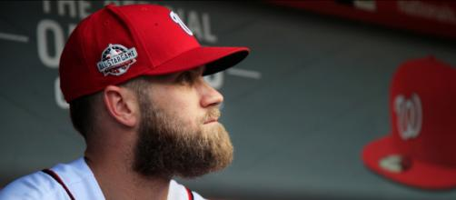 Bryce Harper now adds power to the Phillies lineup. - [ESPN / YouTube screencap]