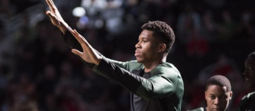 Giannis Antetokounmpo was named Eastern Conference Player of the Month for February. [Image Source: Flickr | Dan Garcia]