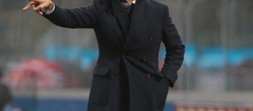Spalletti ha schierato Ranocchia centravanti nel finale della sfida di Cagliari