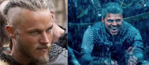 Ragnar e Ivar (Foto - Reprodução/Instagram/History)
